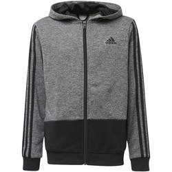 Textiel Jongens Trainings jassen adidas Performance Training Gear Up Hoodie Grijs / Zwart / Zwart