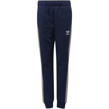 Textiel Jongens Trainingsbroeken adidas Originals Fleece Broek Donkerblauw / Grijs / Wit