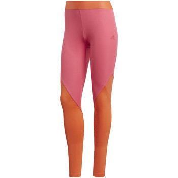 Textiel Dames Leggings adidas Performance Climacool Logo Legging pink
