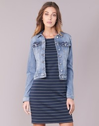 Textiel Dames Spijker jassen Vila VISHOW Blauw / Medium