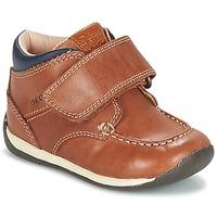 Schoenen Jongens Lage sneakers Geox B EACH BOY Bruin