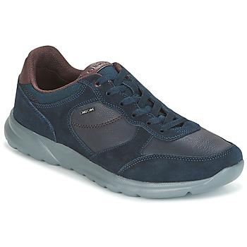 Schoenen Heren Lage sneakers Geox U DAMIAN Blauw