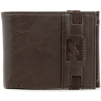 Tassen Heren Portefeuilles Billabong locked wallet Bruin