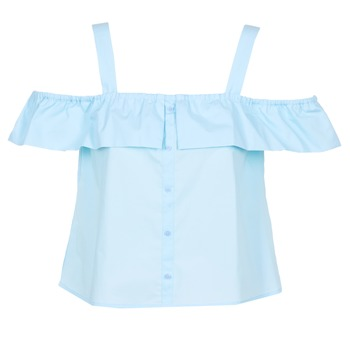Textiel Dames Tops / Blousjes Moony Mood IFARANDOL Blauw
