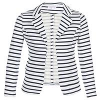 Textiel Dames Jasjes / Blazers Moony Mood IFAROUCHE Wit / Marine