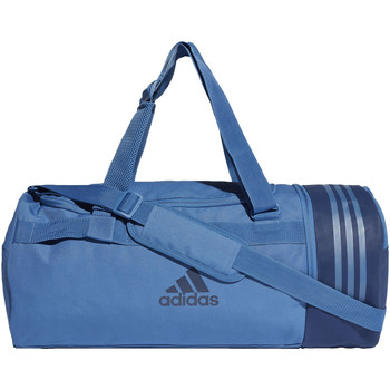 Tassen Sporttas adidas Performance Convertible 3-Stripes Duffeltas Medium blue