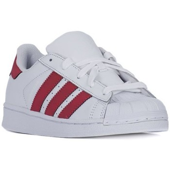 Schoenen Kinderen Lage sneakers adidas Originals Superstar Foundation Wit