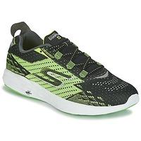 Schoenen Heren Running / trail Skechers Go Run 5 Zwart / Groen