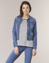 Textiel Dames Spijker jassen Noisy May NMDEBRA Blauw / Medium