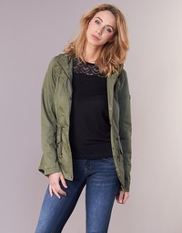 Textiel Dames Parka jassen Only NEW KATE Kaki