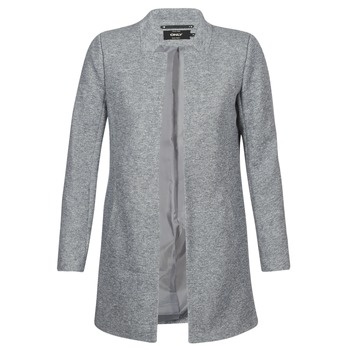 Textiel Dames Mantel jassen Only SOHO Grijs