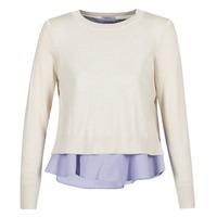 Textiel Dames Truien Only LATISHA Beige / Blauw