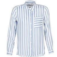 Textiel Dames Overhemden Only CANDY Wit / Blauw