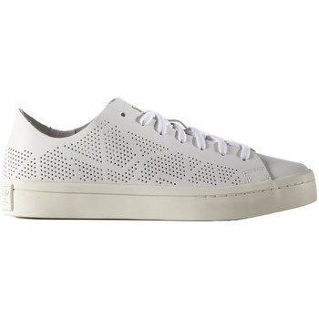 Schoenen Dames Lage sneakers adidas Originals Courtvantage TF W Wit