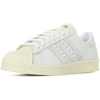 Schoenen Dames Sneakers adidas Originals Superstar 80S Cream Wit