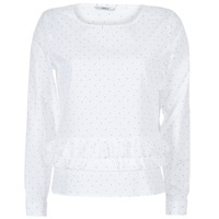 Textiel Dames Tops / Blousjes Only TINE Wit