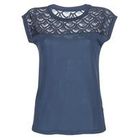 Textiel Dames T-shirts korte mouwen Only NICOLE Marine