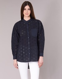 Textiel Dames Overhemden Only IRMA Marine