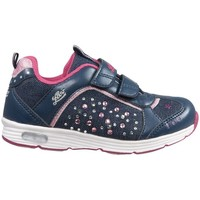 Schoenen Lage sneakers Lico Shine V Blinky Marinepink Blauw
