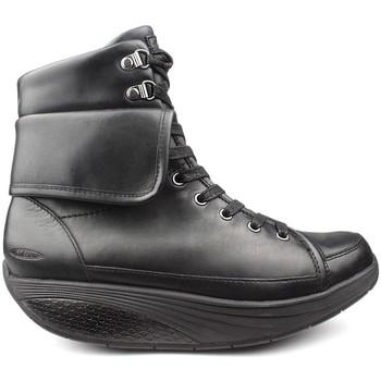 Schoenen Dames Enkellaarzen Mbt EUZI FLIP W KNOPPEN BLACK