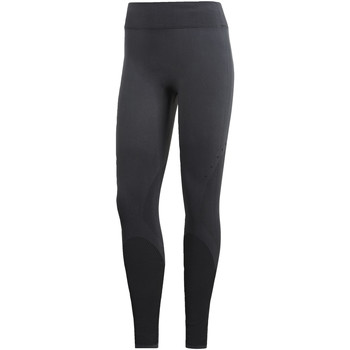Textiel Dames Leggings adidas Performance Warp Knit Legging Grijs / Zwart