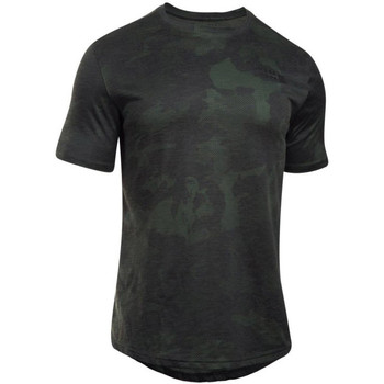 Textiel Heren T-shirts korte mouwen Under Armour UA Sportstyle Core Tee Vert
