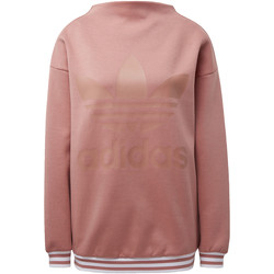 Textiel Dames Fleece adidas Originals Sweatshirt Roze