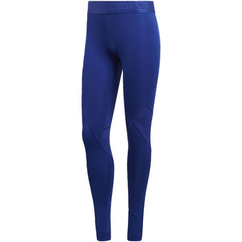 Textiel Dames Leggings adidas Performance Alphaskin Sport Legging blue