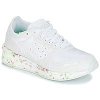 Schoenen Kinderen Lage sneakers Asics HYPER GEL-LYTE GS Wit / Roze / Groen