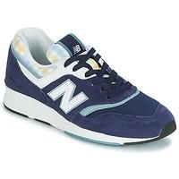Schoenen Dames Lage sneakers New Balance WL697 Blauw