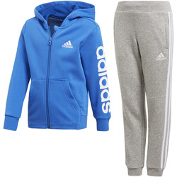 Textiel Jongens Trainingspakken adidas Performance Hojo Trainingspak Blauw / Blauw