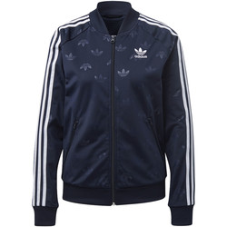 Textiel Dames Trainings jassen adidas Originals Trainingsjack Blauw