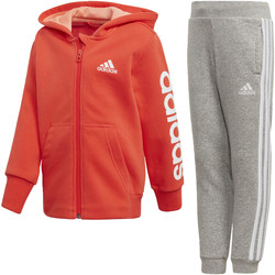 Textiel Meisjes Trainingspakken adidas Performance Hojo Trainingspak Rood