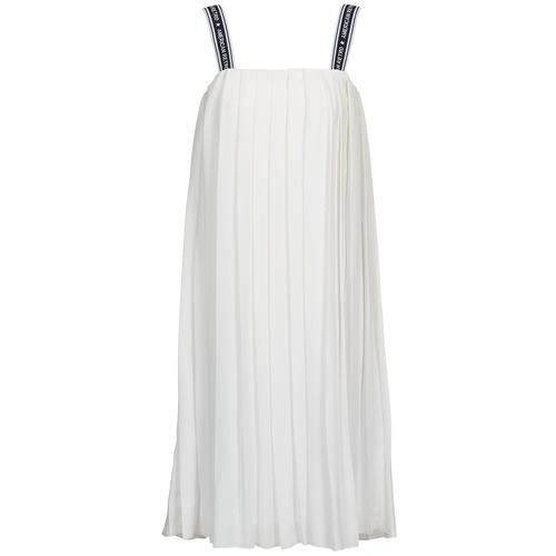 Textiel Dames Lange jurken American Retro VERO LONG Wit