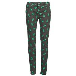 Textiel Dames Skinny jeans American Retro TINA Zwart / Groen