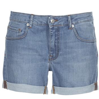 Textiel Dames Korte broeken / Bermuda's Moony Mood INYUTE Blauw / Clair