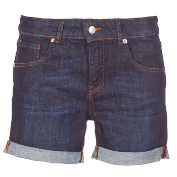 Textiel Dames Korte broeken / Bermuda's Yurban INYUTE Blauw / Donker
