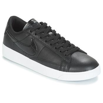 158b06dd6dd Schoenen Dames Lage sneakers Nike BLAZER LOW ESSENTIAL W Zwart
