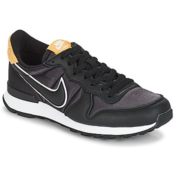 Schoenen Dames Lage sneakers Nike INTERNATIONALIST HEAT Zwart / Goud