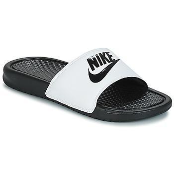 acb1433090c Schoenen Heren slippers Nike BENASSI JUST DO IT Wit / Zwart