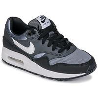 Schoenen Jongens Lage sneakers Nike AIR MAX 1 GRADE SCHOOL Zwart / Grijs