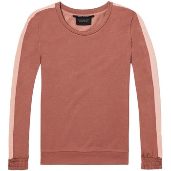 Textiel Dames Sweaters / Sweatshirts Maison Scotch Relaxed Roze