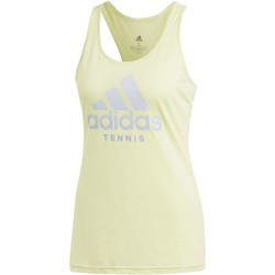 Textiel Dames Mouwloze tops adidas Performance Category Tanktop Geel