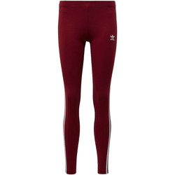 Textiel Dames Leggings adidas Originals 3-Stripes Legging Rood