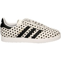 Schoenen Dames Lage sneakers adidas Originals GAZELLE W Wit