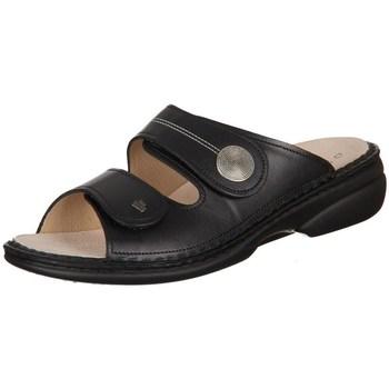 Schoenen Dames Leren slippers Finn Comfort Sansibar Nappaseda