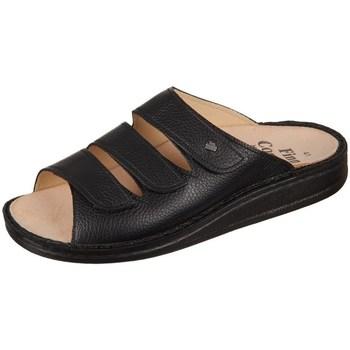 Schoenen Heren Leren slippers Finn Comfort Korfu Bison