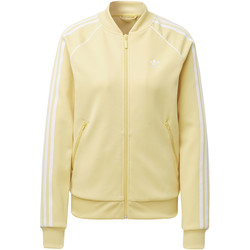 Textiel Dames Trainings jassen adidas Originals SST Trainingsjack Geel / Beige