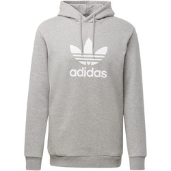 Textiel Heren Sweaters / Sweatshirts adidas Originals Trefoil Warm-Up Hoodie Grijs