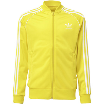 Textiel Kinderen Trainings jassen adidas Originals SST Trainingsjack Geel